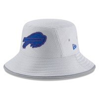 Men's Buffalo Bills New Era Gray 2018 Training Camp Official Bucket Hat 3060995