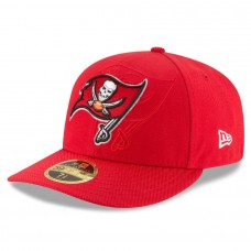 Men's Tampa Bay Buccaneers New Era Red 2016 Sideline Official Low Profile 59FIFTY Fitted Hat 2419693