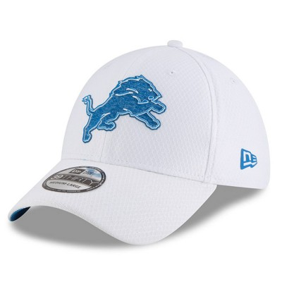 New Era Detroit Lions 18 NFL Training Camp White 39THIRTY Flex hat 3060650