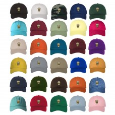 COFFEE CUP Dad Hat Embroidered Brewed Coffee Mug Baseball Caps  Many Available  eb-39945817