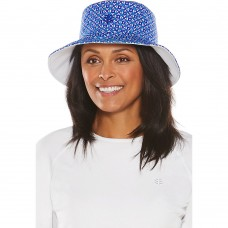 Coolibar UPF 50+ Mujer's Reversible Pool Hat  eb-48665252