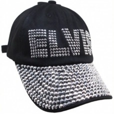 Elvis Studded Ladies Hat Direct From Memphis  Graceland  eb-06709744