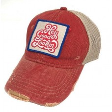 "Judith March ""Hey Good Lookin'"" Hat   Red  eb-88625310"