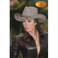 NEW Montecarlo Bullhide ULTIMATE COWGIRL Mujers Wool Western Cowboy Hat LARGE 7707060252730 eb-39828267