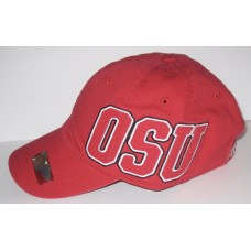 NWT VICTORIA'S SECRET PINK OHIO STATE BUCKEYES RED BASEBALL HAT CAP ONE SIZE 667545827518 eb-46212554