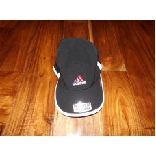 NWT Mujers ADIDAS Black White Adizero Relaxed Fit Climacool UPF 50 One Size Hat  eb-94752753