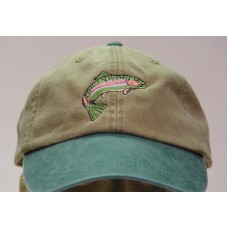 RAINBOW TROUT WILDLIFE HAT WOMEN MEN EMBROIDERED CAP Price Embroidery Apparel  eb-09531869