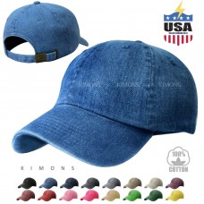 Dyed Washed Cotton New Plain Polo Style Baseball Ball Cap Hat Dad 2 Two Tone  eb-75154426