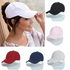 Hot Fashion Mujer Ponytail Cap Casual Baseball Hat Sport Travel Sun Visor Caps  eb-75664362