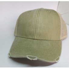 New Unisex Hombre's Mujers Adams Trucker/Baseball Cap  Light Green/Khaki/Tan  eb-26271466