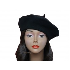 US SELLER Good Quality Classic French 100% Wool Solid Color Mujer's Beret  eb-40811144