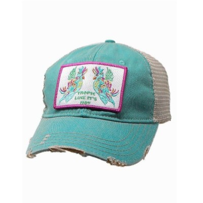 "Judith March ""Tropic Like It's Hot"" Hat  Jade  eb-32836957"