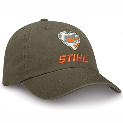 STIHL Olive Ladies Heart Cap Hat  eb-11707938