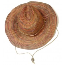 San Diego Hat Company LADIES Packable WIDE BRIM Hat Leather Cord OSFA  eb-07493873