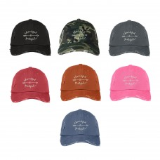 THANKFUL GRATEFUL Distressed Dad Hat Embroidered Cursive Dad Hats  Many Colors  eb-53727967