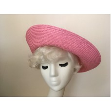 "Pink Floppy Hat Easter Church Derby Wear Up Down or Halfway Blend Betmar 21 1/2""  eb-48345967"