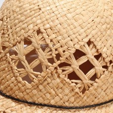 Casual Delicate Beach Cap UV Protection Summer Wide Brim Hats for Ladies 192190407650 eb-89135138