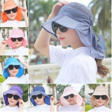 Mujer Summer Casual Thin Breathable Wide Brim Beach Hat Outdoor Sport Visor Cap  eb-92834762