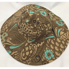 Gap Sun Hat S Beach Pool Tan Blue Peacock Brown Mujers Wide Brimmed Cotton Girls  eb-98447658