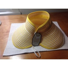 Roll Up Visor Style Travel Hat Womans'  new w tags.  eb-78572412