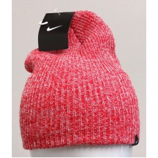 NIKE WMNS HEADWEAR HEATHER KNIT BEANIE Sunburst/White 507593 610   eb-04821632