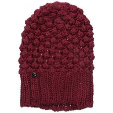 NWT | LOLE Mujer's Popcorn Slouch Beanie One Size | Rumba Red 675788656390 eb-25055581