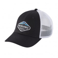 NEW Patagonia Fitz Roy Crest LoPro Trucker Hat Black  eb-34237418