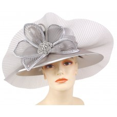 Mujer's Church Hat  Derby hat  Silver  Gold  HL61  eb-89277051