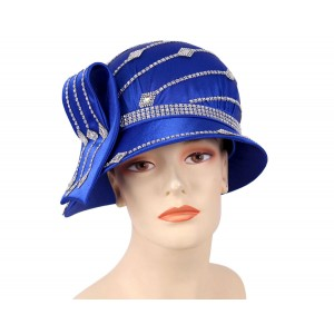 's Church Hat  Derby hat  Silver  Royal H873  eb-62955609