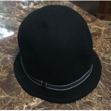 Ladies (Adorable) Black Felt Bucket Hat  eb-01557533