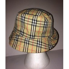 NOVA Print Check Bucket HAT CAP Multi Colors  eb-81059267
