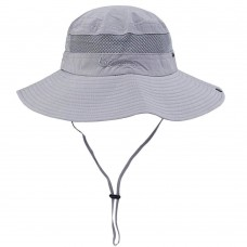 Senker Unisex Outdoor Bucket Mesh Boonie Fishing Sun Hat   eb-15453421