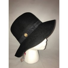 Vince Camuto Mujer's Bucket Hat Wool Black Logo Detail Adjustable New  eb-65173272