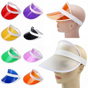 Summer Neon Sun Visor Hat For Golf Sport Tennis Headband Cap Green Blue Casual  eb-53195995
