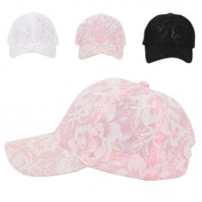 Female Lace Floral Adjustable Outdoor Sunproof  Hat Baseball Bucket Cap.US  eb-01519930