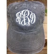 NWT Preppy Monogrammed Ladies Hat Adjustable  CUTE and GREAT GIFT  eb-09124303