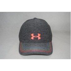 New Under Armour Mujer's Black/Pink Baseball Cap Curved Bill Adjustable Hat OSFA  eb-78391465