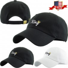 King Embroidery Dad Hat Cotton Adjustable Baseball Cap  eb-92926054