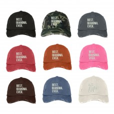 BEST GRANDMA EVER Distressed Dad Hat Best GrandMother Ever Hats  Many Colors  eb-61788181