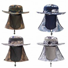 Sun UV 360° Protection Cap Hat Neck Face Cover Mask for Fishing Camping Hunting  eb-89833977