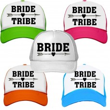 Bride Tribe Neon Trucker Snapback Hats Bachelorette Party Wedding Bridal Party  eb-14235994