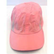 Columbia Pink Cap Baseball Hat Mujer's Adjust Strap Flamingo Embroidery Nylon  eb-84926868